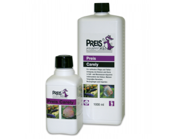 Preis Carely is the ideal care product for all ornamental fish, especially Discus, Malawi-Tanganyika perch, new fish to the aquarium and imports.