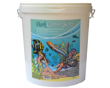 Fine dark substrate of calcium/magnesium compounds that is ideal for sea water aquariums.