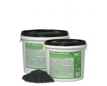 Long-lasting filter material for fresh and seawater aquariums. Biological filter and ideal nutritious flooring for aquatic plants.