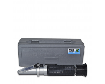 The PREIS Precision Refractometer that allows precise measurement of the salt concentration of your water.